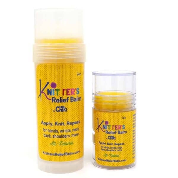 Knitters relief balm combo pic